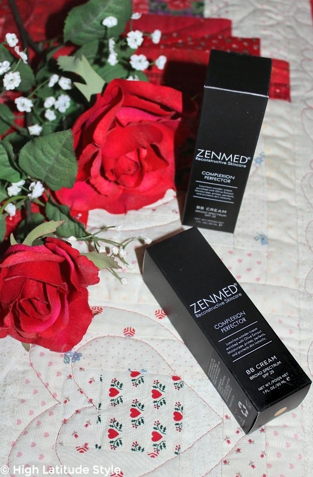 #beautyover50 Zenmed 1 oz (30 ml) BB makeup packages in light shade