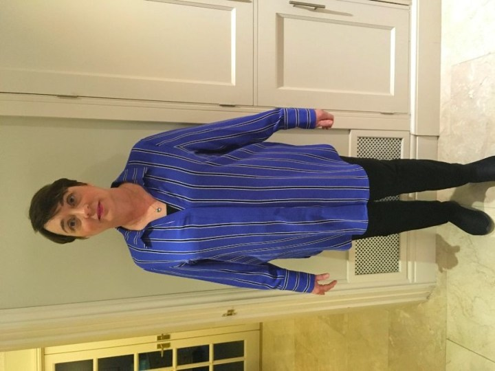 #makeover in midlife Di trying out a classic casual shirt