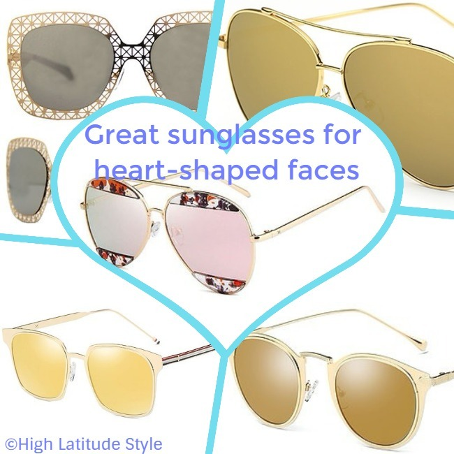 #accessories #sunglasses Addicted Brands sunglasses that may look great on heart-shaped faces