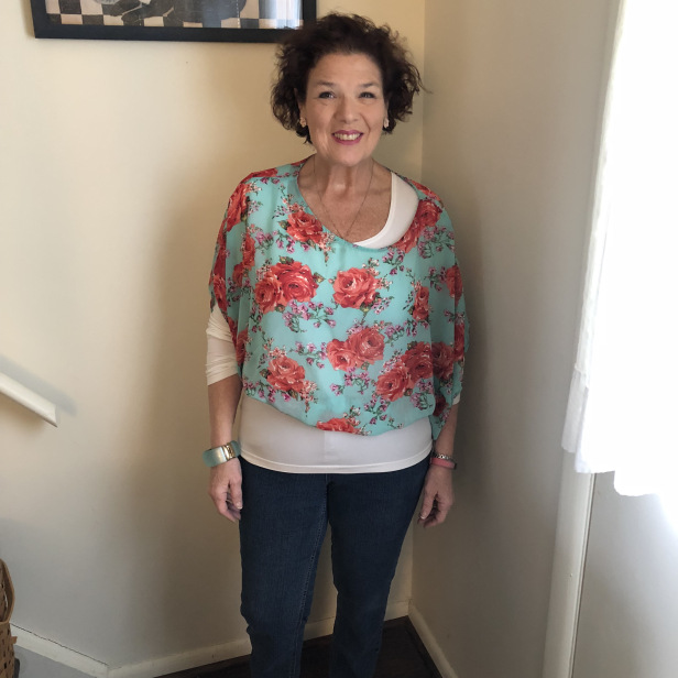 #styleover50 Top of the World OOTD my Fav Maggie Donapel at The Thrifting Fashionista