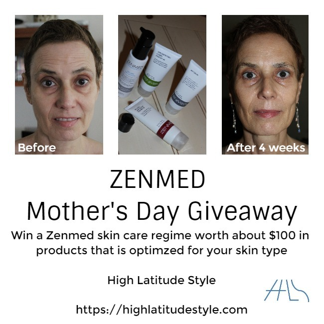 #zenmed #giveaway flyer for ZENMED Mother's Day giveaway
