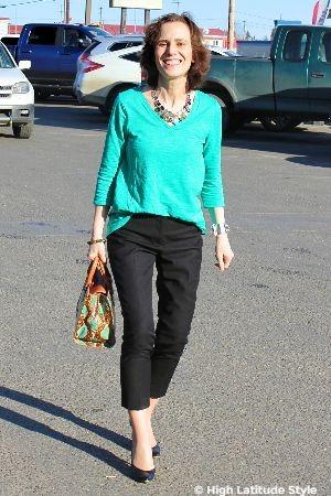 #fashionover50 Nicole Mölders CEO of High Latitude Style