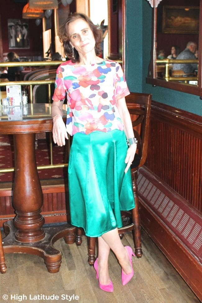 #fashionover50 #budgetfashion work outfit created from cheap and expensive items