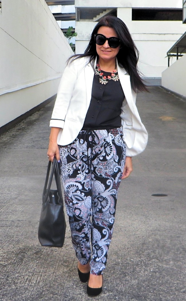 #fashionlinkup top of the world style winner Lorena of My Everyday Wear