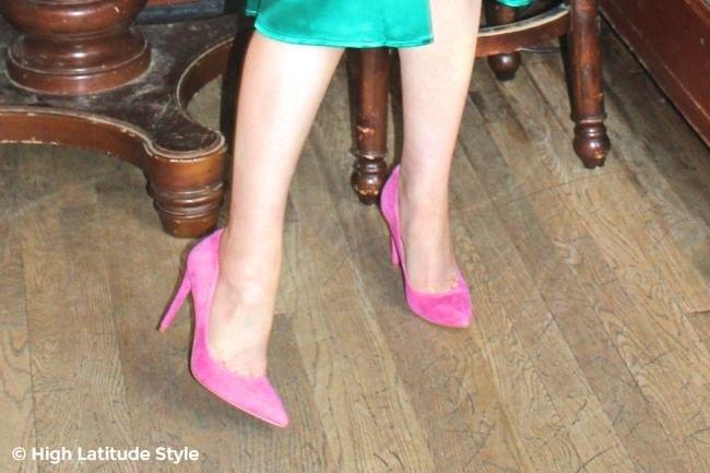 shoe beauties in pink