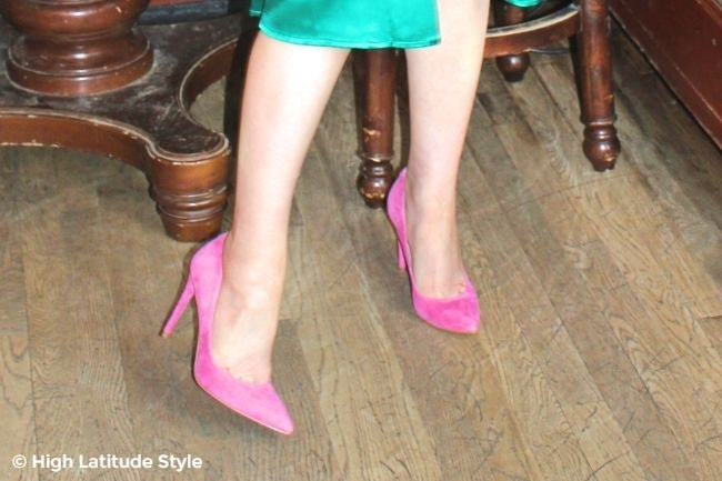 shoe beauties in pink