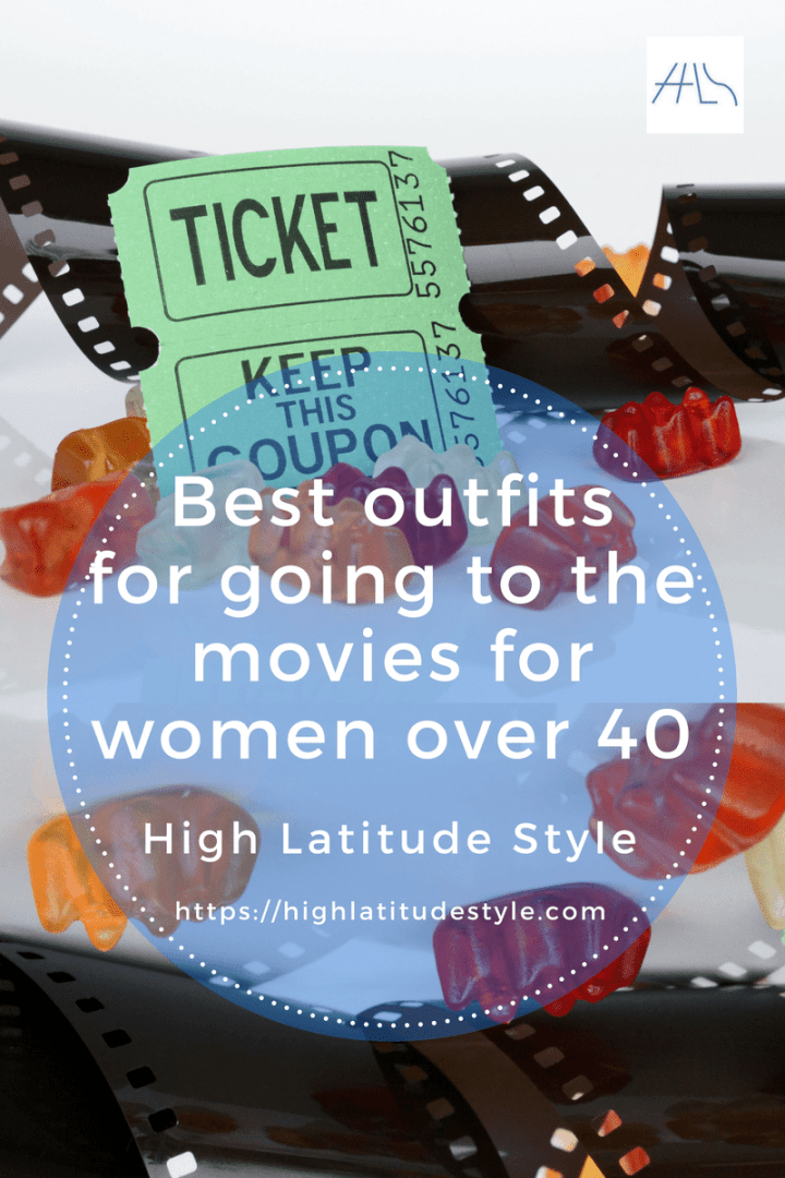#fashionover50 #Dress4Success best outfit recipes for going to the movies for women over 40 post banner