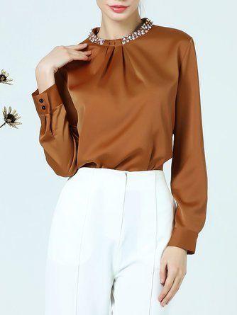 blouse full breast