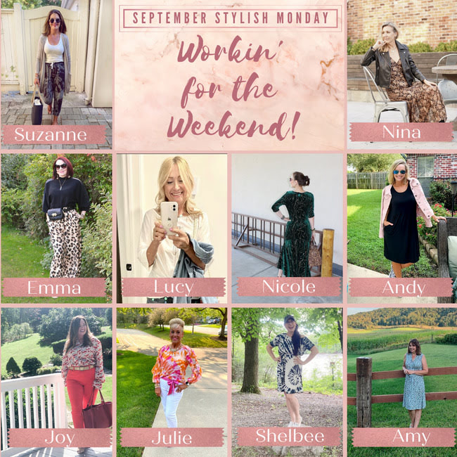 Hostesses of the Stylish Monday weekend wear linkup party