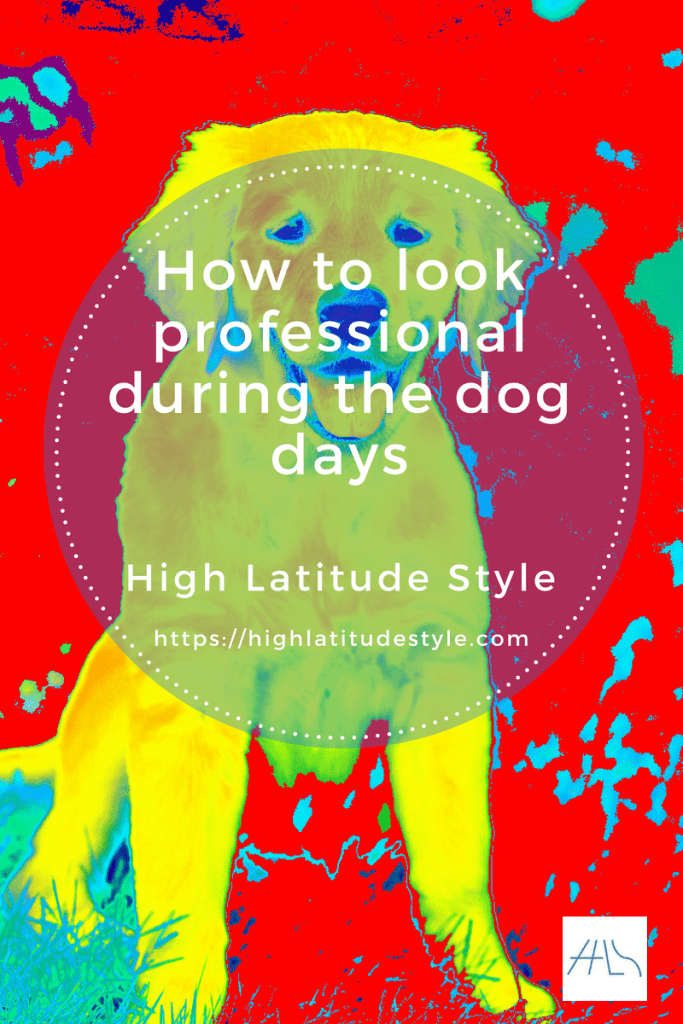 How to look professional at a work meeting during the dog days