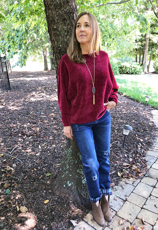 #stylelinkup op of the World OOTD Readers' Fav Jonet Wooten of Fabulouslly Chic Over 50