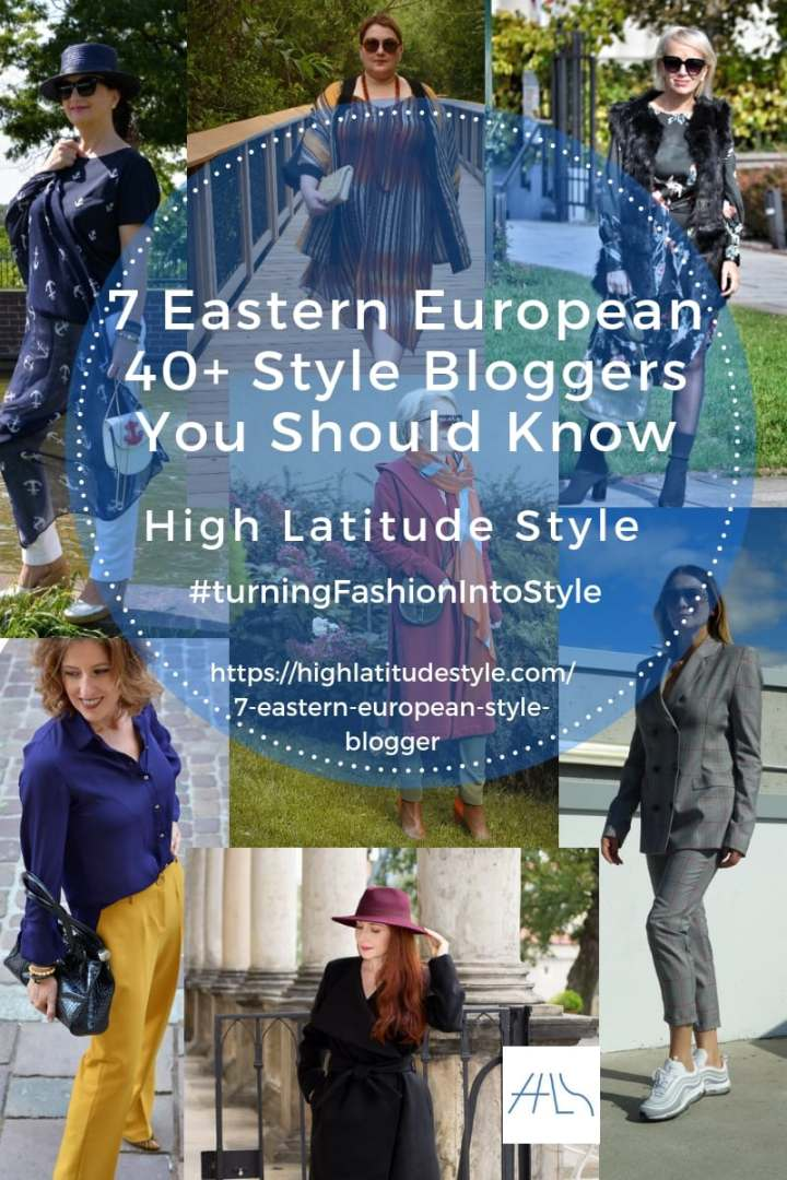 7 great Eastern European 40+ style bloggers you should know
