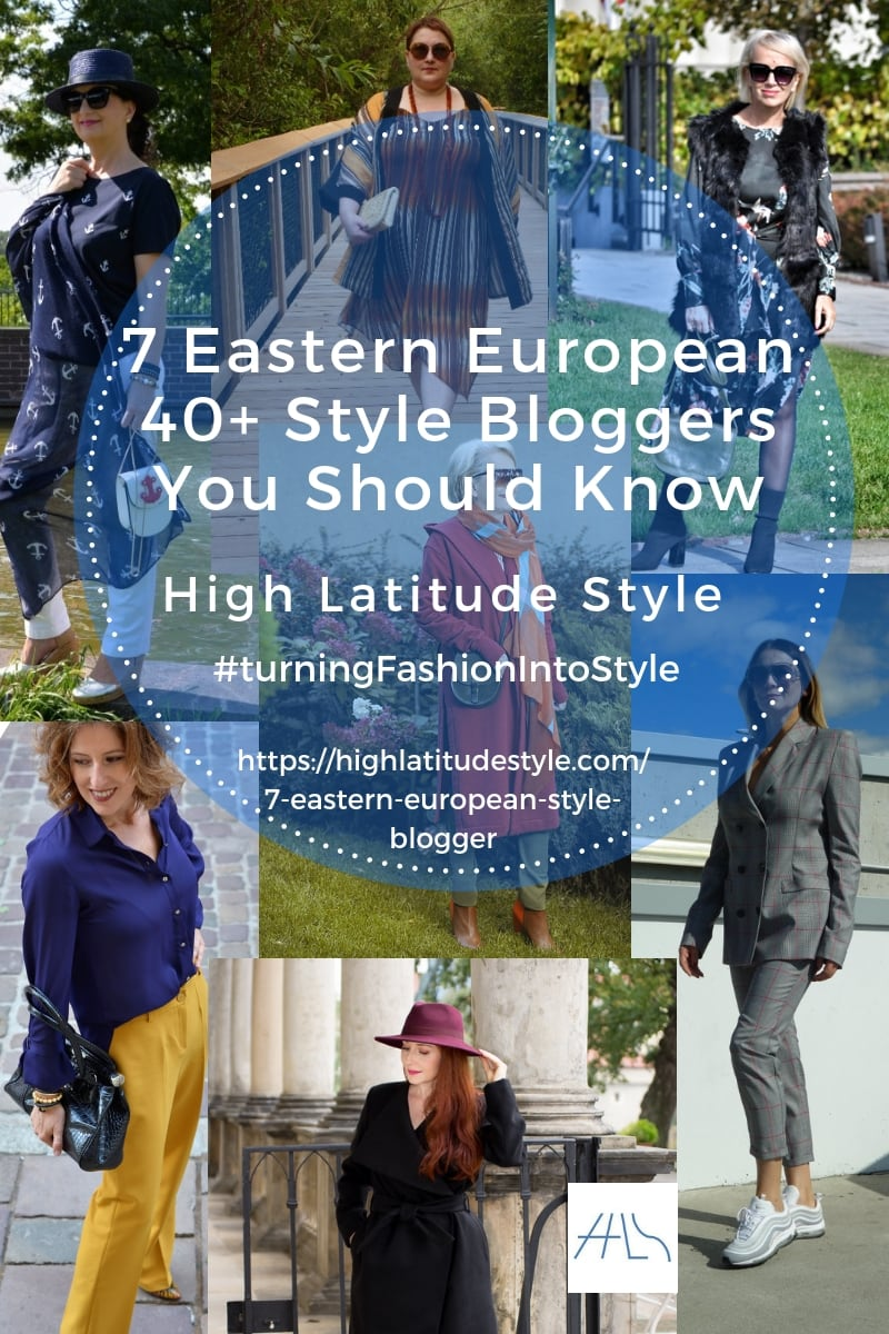 7 Great East European 40+ Style Bloggers You Should Know