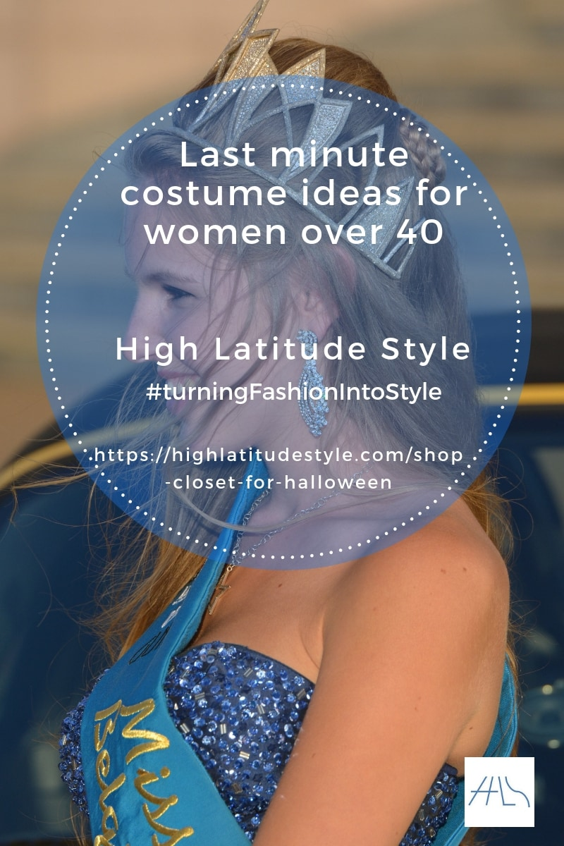 Shop your closet for an awesome Halloween look