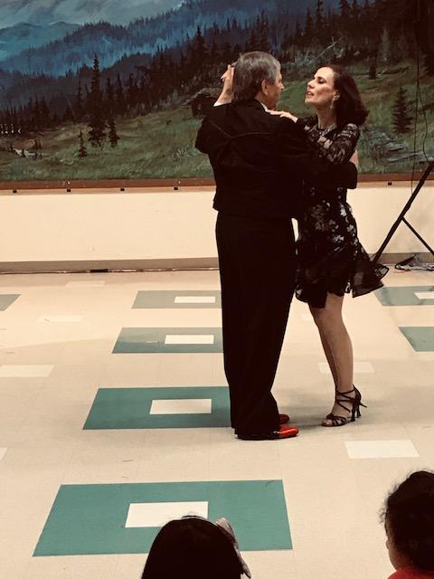 couple dancing the rumba