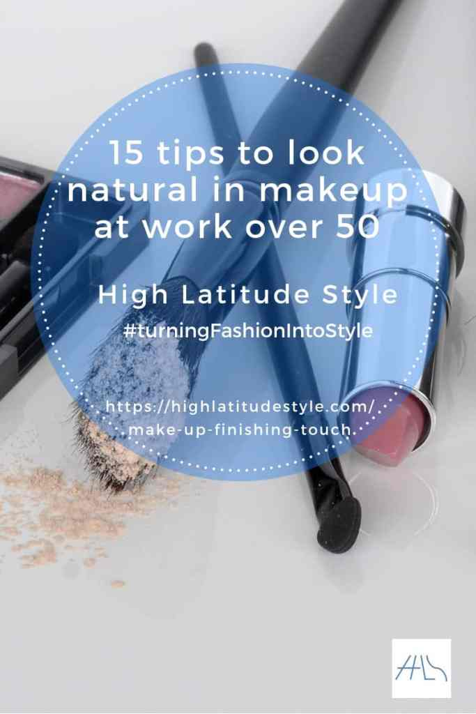 15 tips to look natural in makeup at work over 50