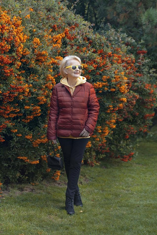 Krystyna Balakier in a weekend look