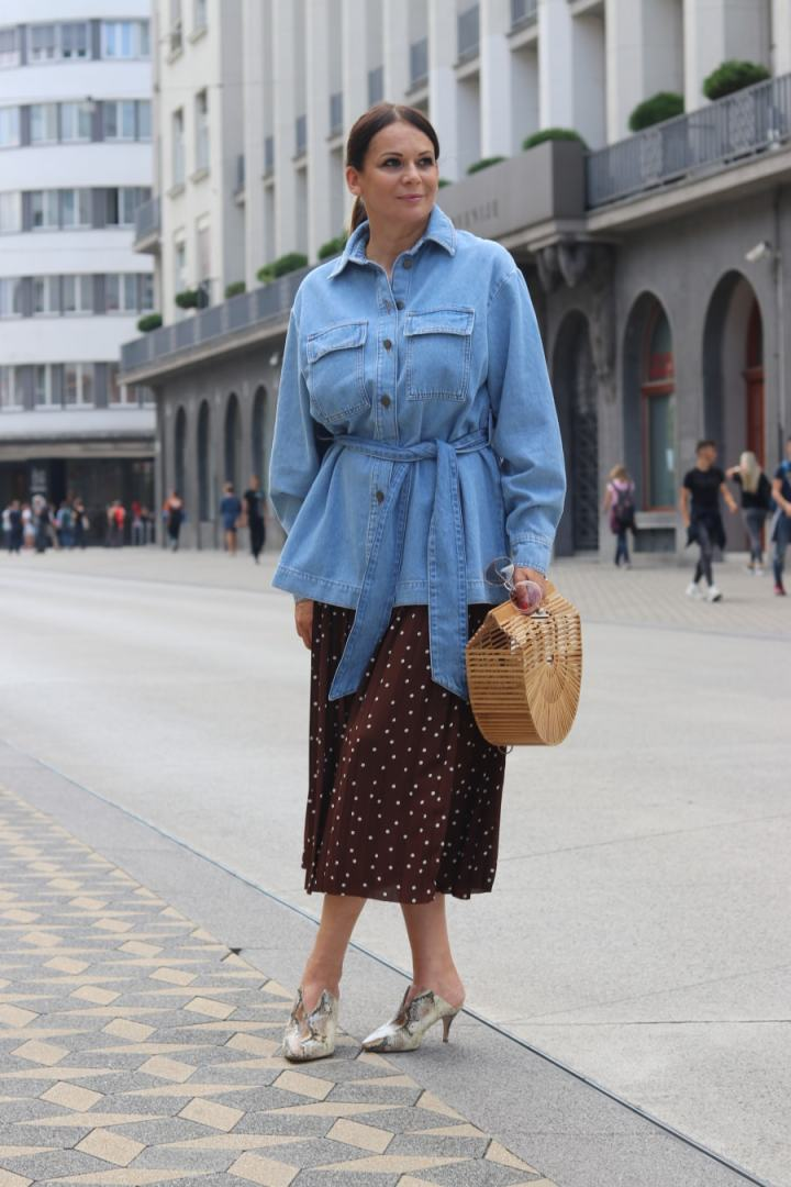 Eastern European fashion blogger Pika of The 50th Avenue