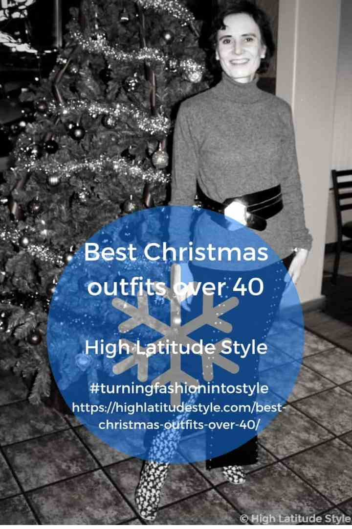 Best Christmas outfits over 40