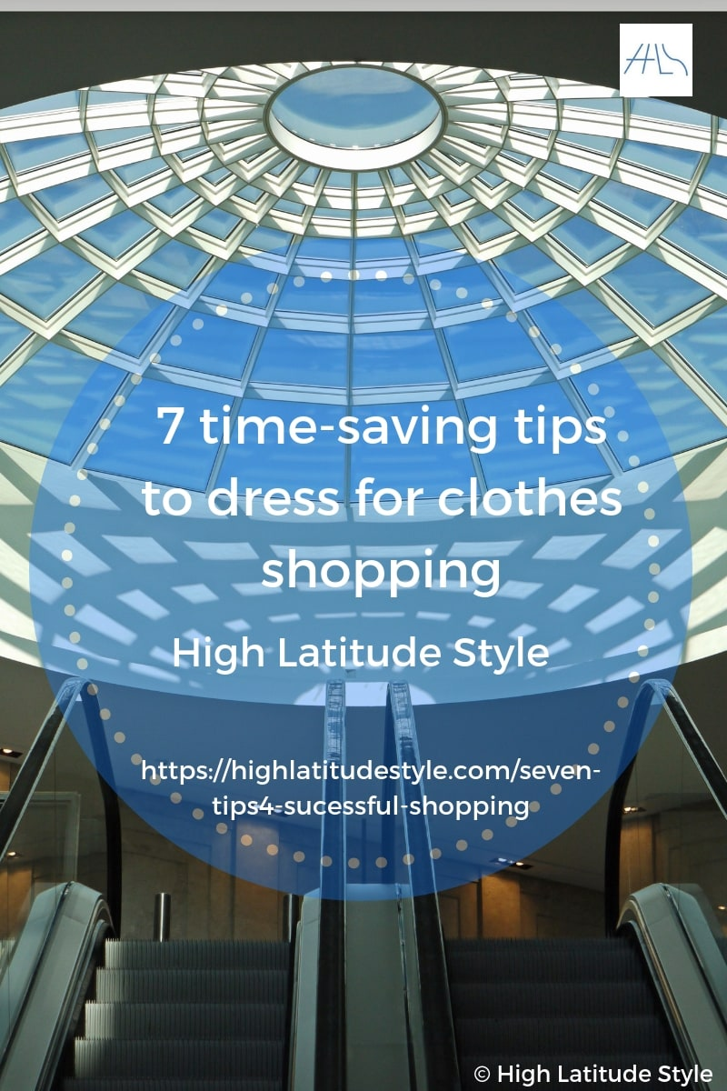 You are currently viewing 7 time-saving tips to dress for clothes shopping