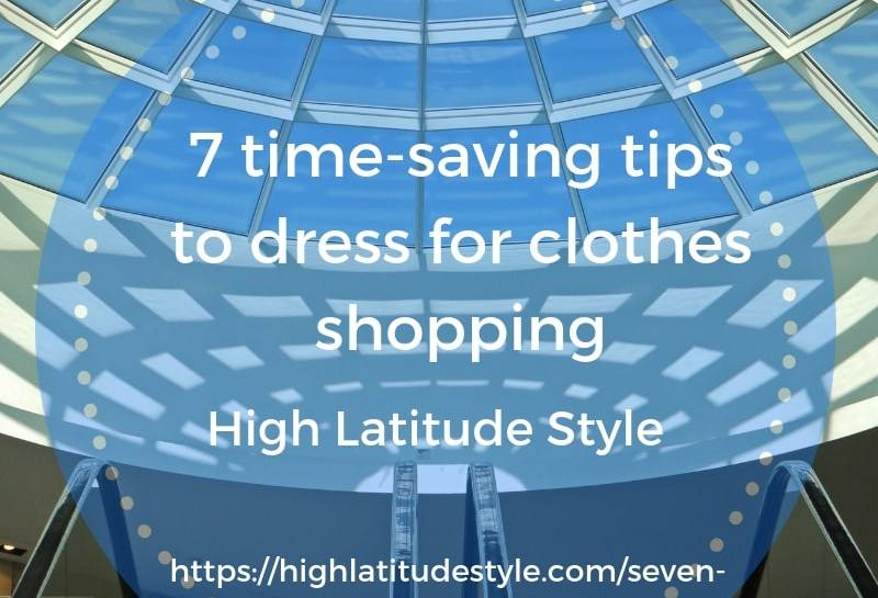 seven tips to save time when clothes shopping