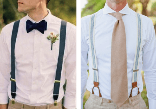Male members of the wedding party