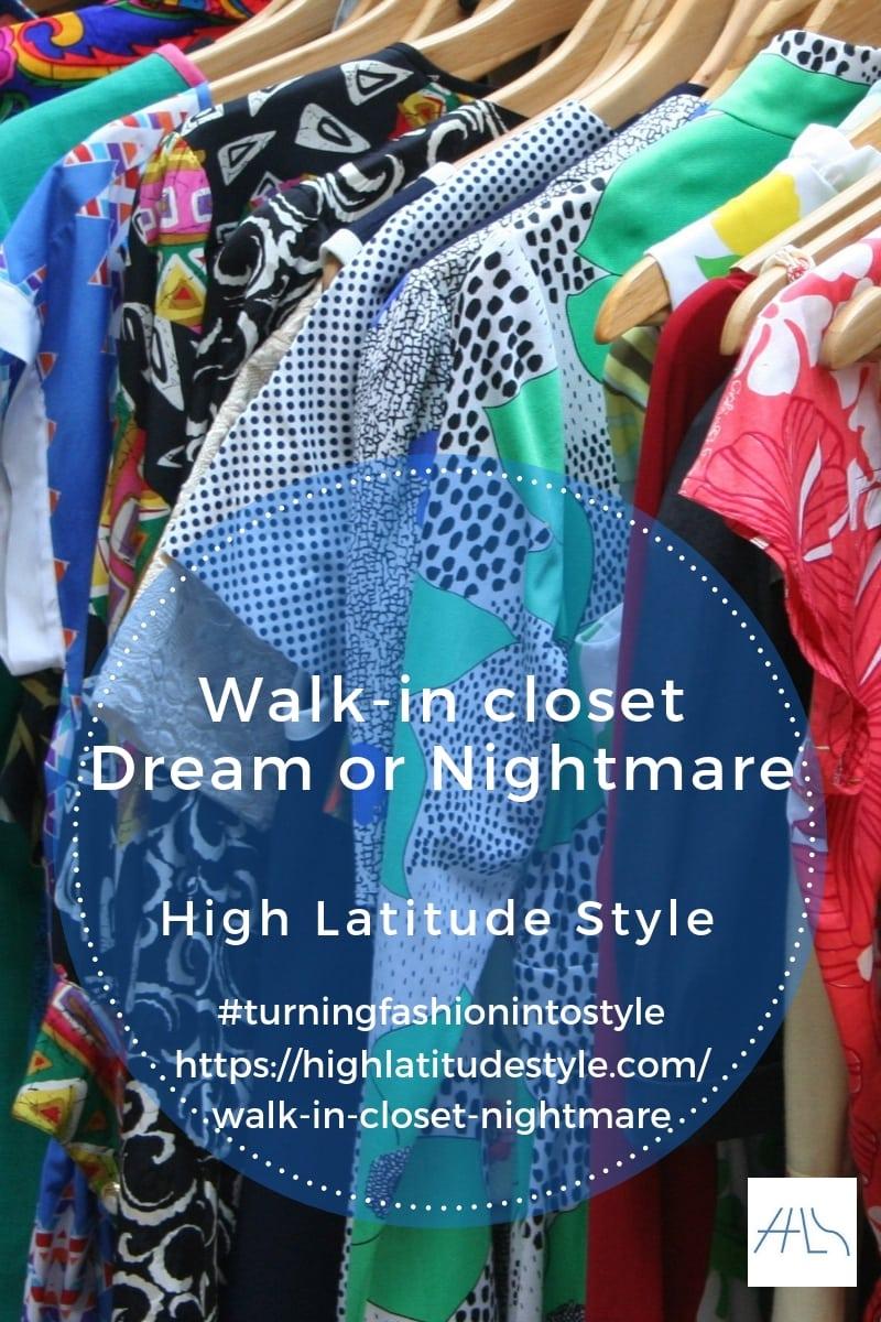 Walk-in closets – dream or nightmare?