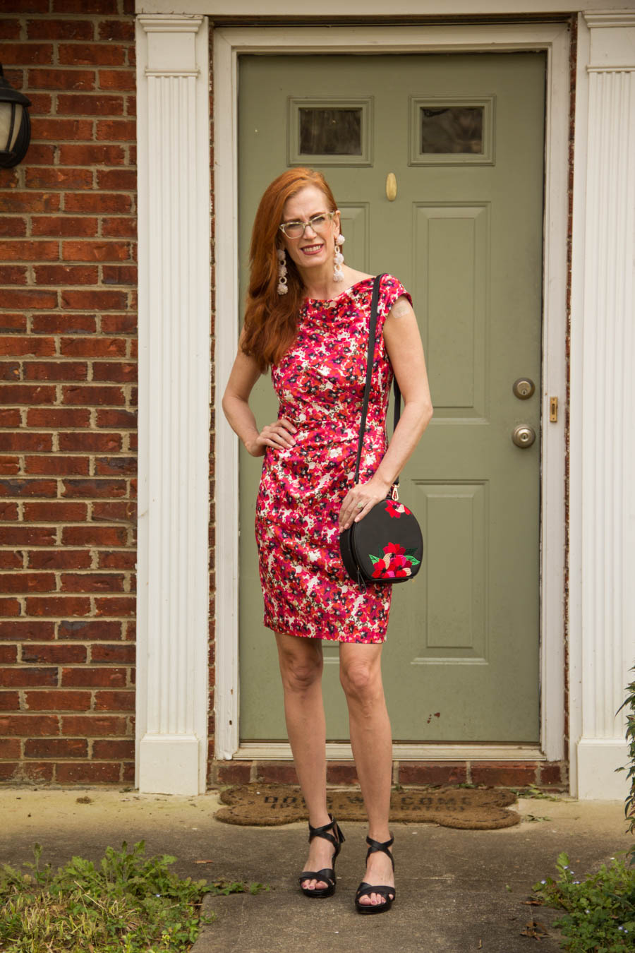 Jessica Jamenga aka Jess mixing floral with floral