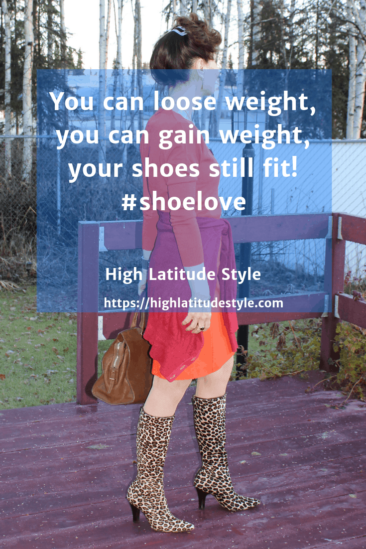 weight loss doesn't change the size of your galoshes