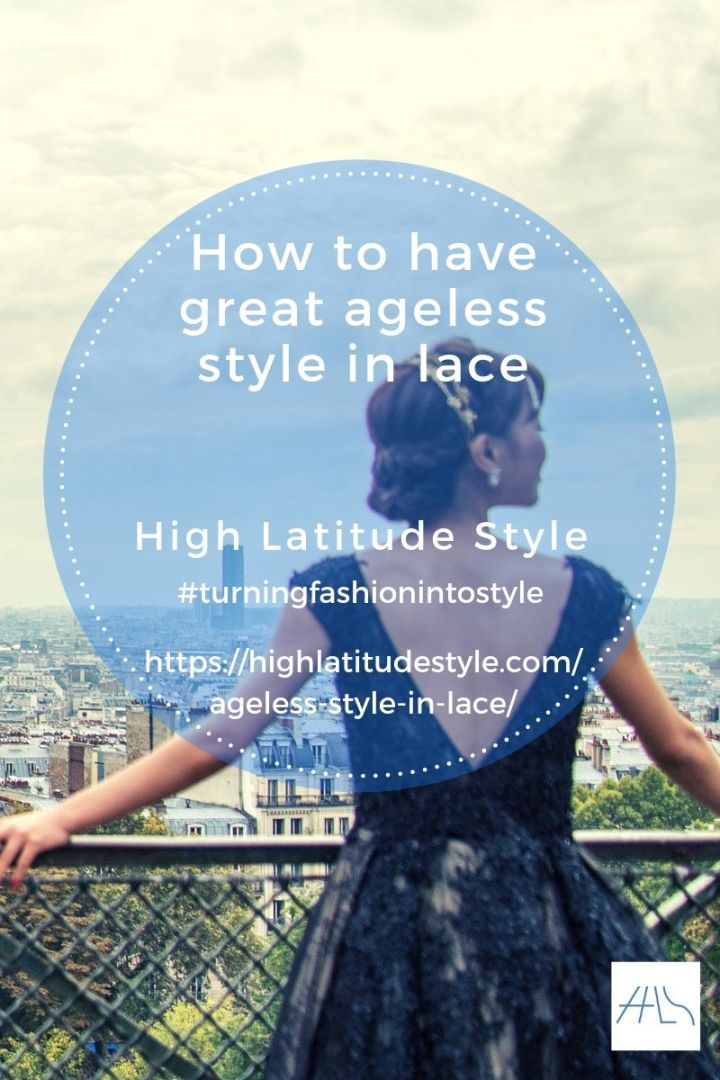 How to have great ageless style in lace post banner