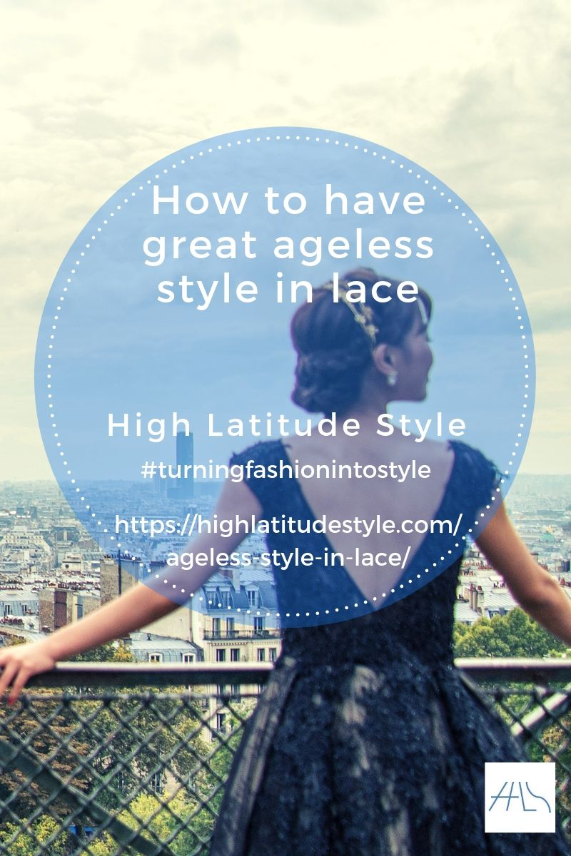 How to have great ageless style in lace
