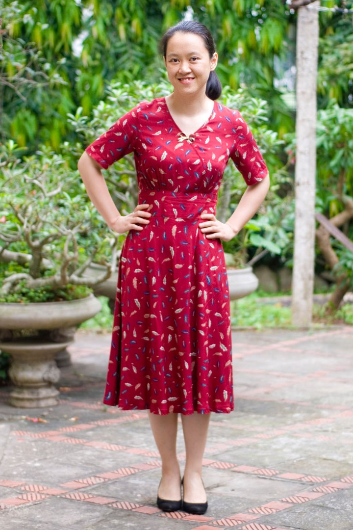 Top of the World OOTD My Fav Salzar in red floral dress