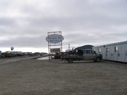 Prudhoe Bay container hotel