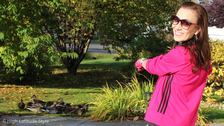 How I wear my Adidas jacket