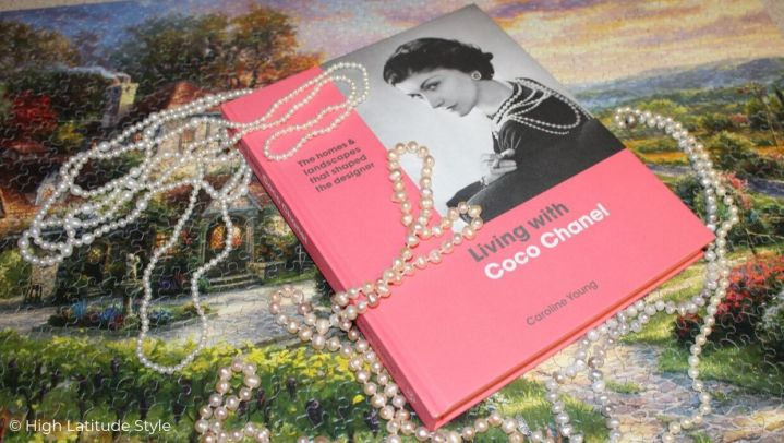 photo of Caroline Youngs book Living with Coco Chanel and pearls