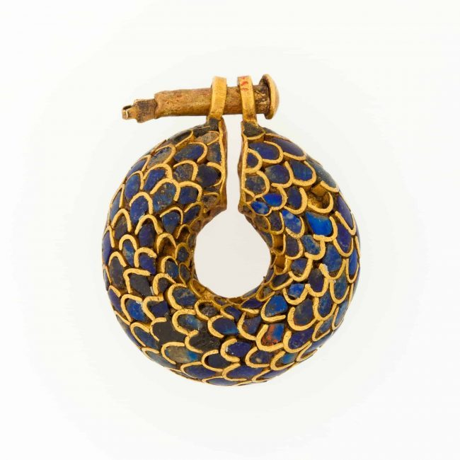 Egyptian earring ca. 1295–1186 BC