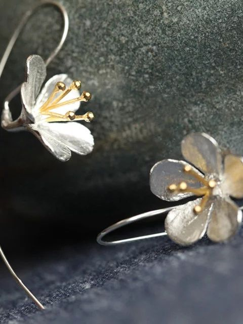 Bohemia elegant daisy flowers earrings