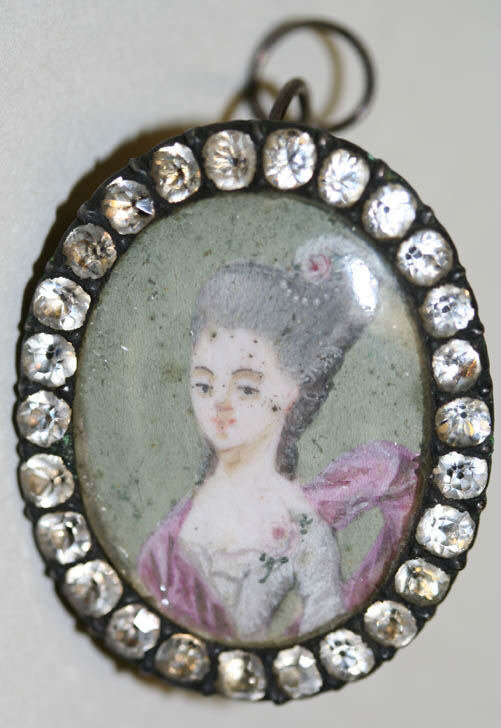 French earrings 18th century
