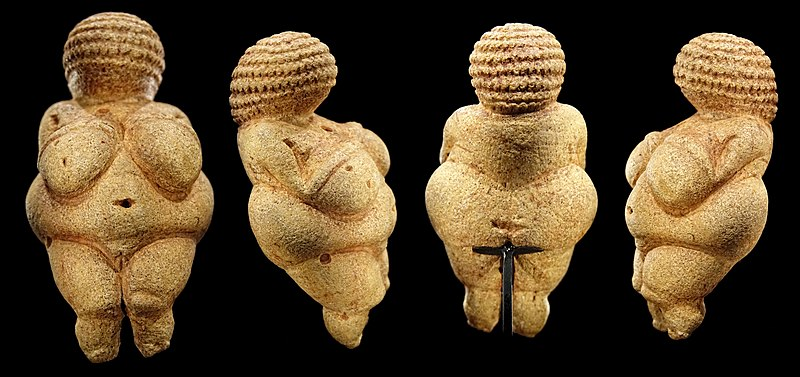 Venus of Willendorf from all sides