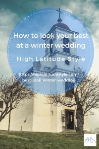 How You Can Look Your Best at a Winter Wedding