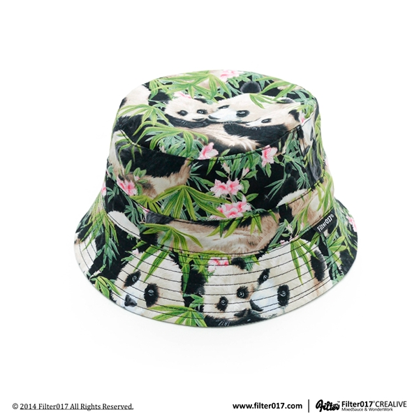 """Filter017 RD Fabric Panda Reversible Bucket Hat"" by Filter017 is licensed under CC BY-NC 4.0"