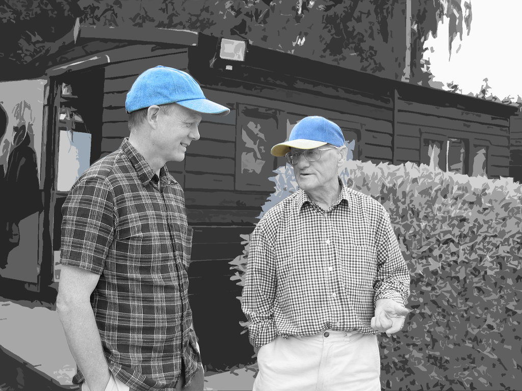 """blue cap father and son"" by Simon Hammond is licensed under CC BY-NC-ND 2.0"