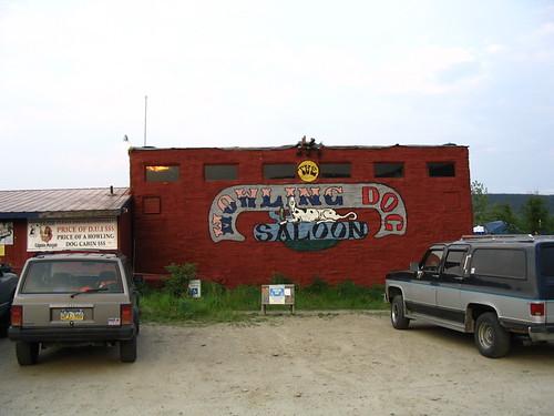 "Hauling Dog Saloon in Fox, Alaska ""IMG_1351"" by alaskana is licensed under CC BY-NC-SA 2.0"