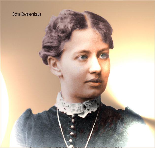 photo of mathematician Sofia Kovalevskaya