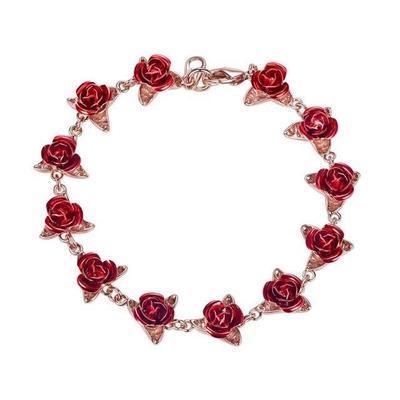 romantic style rose bracelet