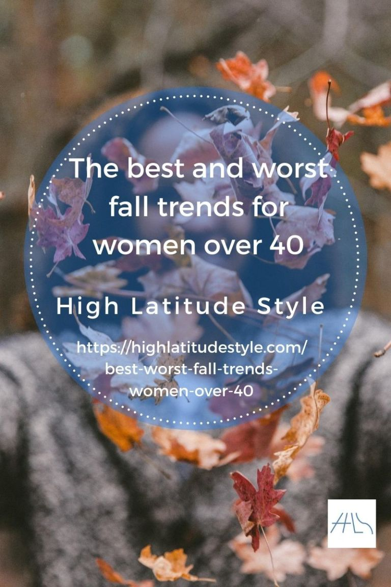 Read more about the article Best and Worst Fall Trends for Women over 40