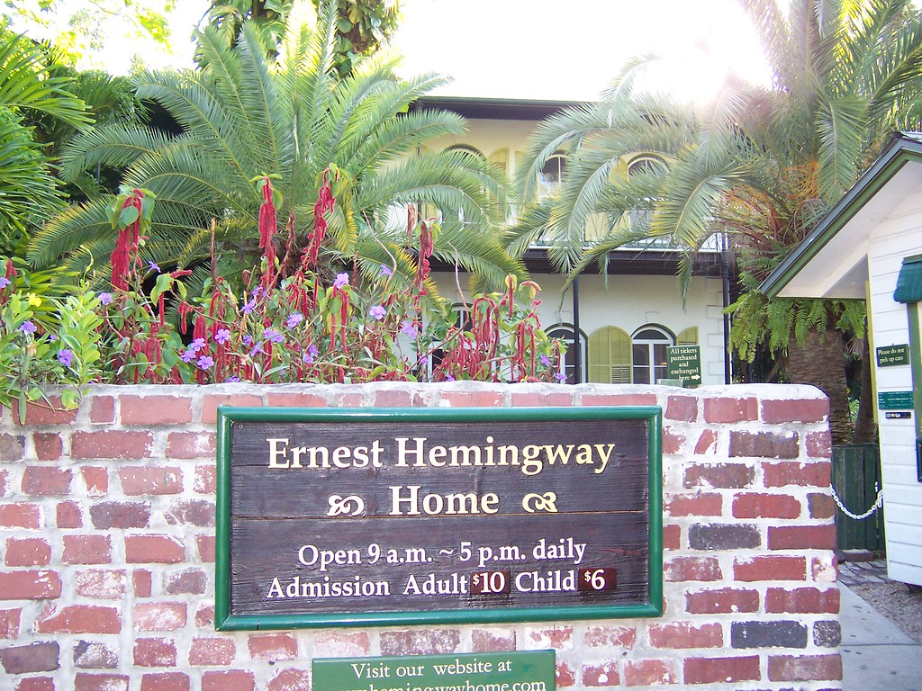 Ernest Hemingway House by jmd41280 CC BY-ND 2.0