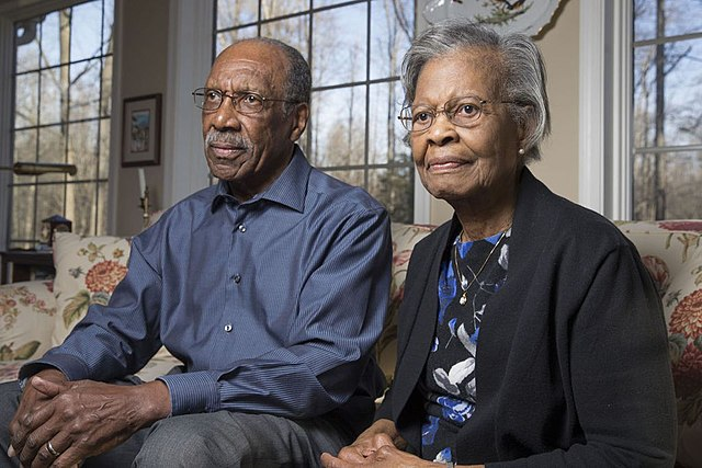Dr. Gladys West and her husband