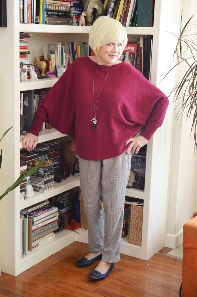 Terri from Meadow Tree in dolman top and pants