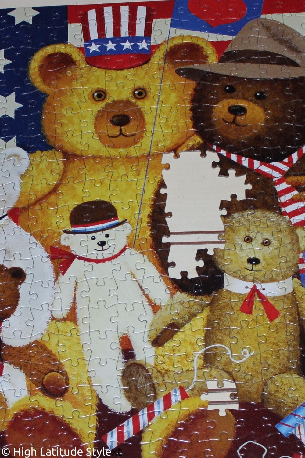 You are currently viewing Buffalo Games Patriotic Puzzle for July 4